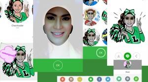 Cara Mudah Membuat Sticker LINE dengan Wajah Sendiri
