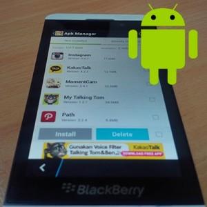 Cara Pasang atau Install Aplikasi Android di HP BlackBerry