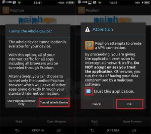Ingin Internetan Gratis ? Gunakan Aplikasi Psiphon Pada Smartphone Android Anda