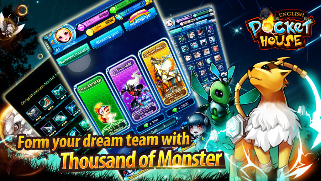 game monster android terbaik