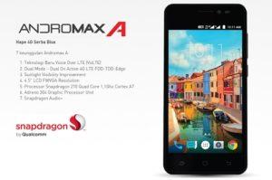 Smartfren Andromax A, Spesifikasi Smartphone 4G LTE dengan Harga 600 Ribuan
