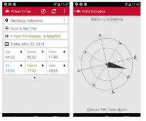 aplikasi jadwal sholat android, aplikasi prayer times