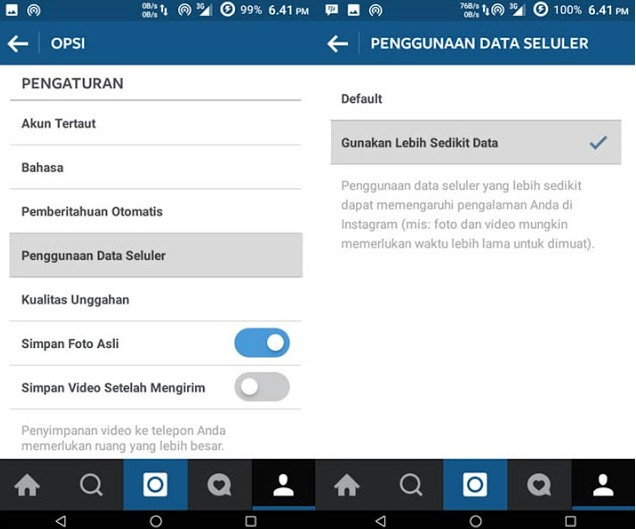 menonaktifkan autoplay video, cara menonaktifkan autoplay video di instagram