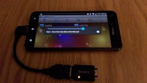 smarphone yang support USB otg