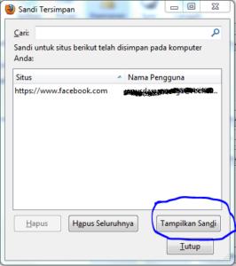 Cara Melihat Password Yang Tersimpan di Browser