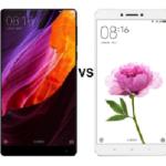 Perbandingan Xiaomi Mi Mix dengan Xiaomi Mi Max
